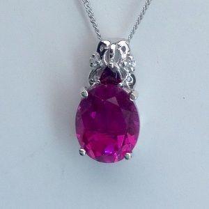 Jewelry - Radiant Orchid Quartz & Multi Gemstone Necklace